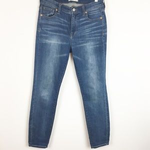 Madewell High Rise Skinny Jeans Size 28